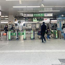 JR逗子駅からの逗子メディスタイルクリニックへのアクセス方法